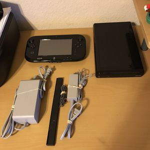 Nintendo Wii U Bundle w/Two Games/32GB for Sale in Temple, TX