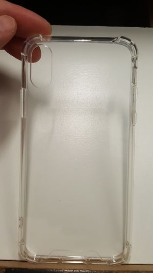 """Case for iphone x/xs 5.8"""" clear new 7firm now ship out of the town for Sale in Phoenix, AZ"""