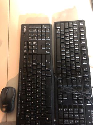 Wireless mouse/keyboard and wired key board for Sale in Greensburg, PA