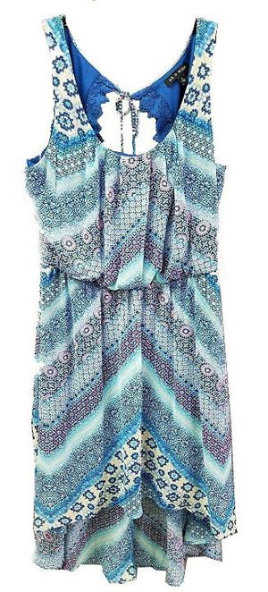 As U Wish Women's Summer Dress, Blue, M for Sale in Norfolk, VA