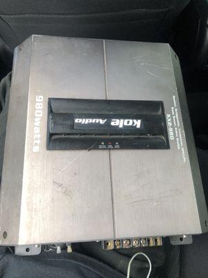 Kole audio amplifier for Sale in New Haven, CT