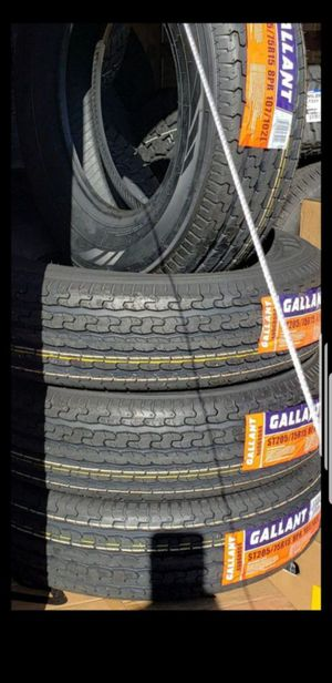 4 Brand New ST-225/75/15 Trailer Tires 225-75-15 inch Load E 10 ply 80 psi for Sale in Moreno Valley, CA
