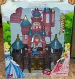 Used, NEW IN BOX Authentic Disney Castle light up fireworks + music for Sale for sale  Westfield, NJ