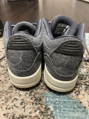 100% Authentic Air Jordan Retro 3 Wool size 10 for Sale in Tampa, FL
