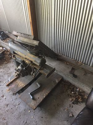 Tools table saw and drill for Sale in Cleveland, OH