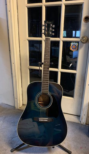 Blue Ibanez acoustic Guitar for Sale in Lilburn, GA