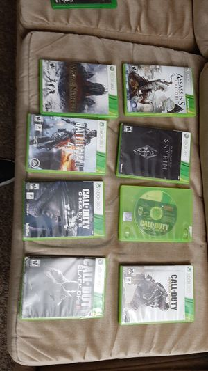 10 dollars for each all xbox 360 games been used but good shape for Sale in Arlington, TX