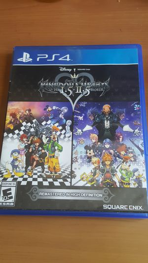 Kingdom Hearts 1.5 + 2.5 Remix - PS4 for Sale in Los Angeles, CA