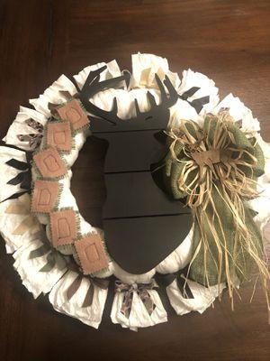 Hospital Door Hanger- Newborn Diaper Wreath for Sale in Georgetown, TX