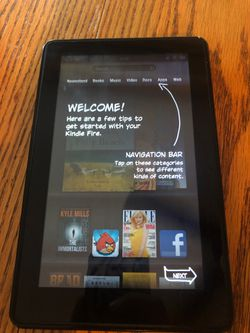 Amazon Kindle Fire (Barely Used! Price Lowered!) for Sale in Oceanside,  CA