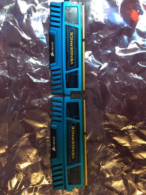 Corsair Vengeance 2x4 8GB DDR3 1600mhz RAM for Sale in Queens, NY