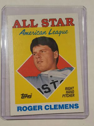 Roger Clemons Topps All Star for Sale in Hacienda Heights, CA