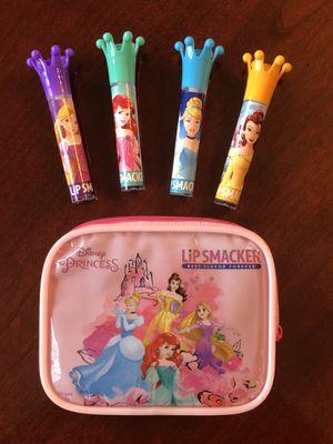 NEW Lip Smacker Purse and Princess Sticks for Sale in Smyrna, TN