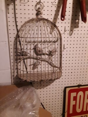 Bird Cage Decoration for Sale in Naples, FL