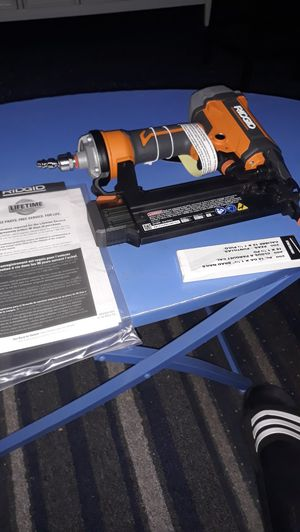 Nail gun brand new with carrying case for Sale in Desert Hot Springs, CA