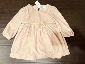 Baby Gap Light Pink Velvet Dress 12-18 Months for Sale in Hanover, MD