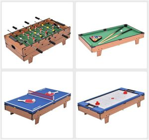 4 In 1 Multi Game Air Hockey Tennis Football Pool Table Billiard Swivel Indoor for Sale in Alta Loma, CA