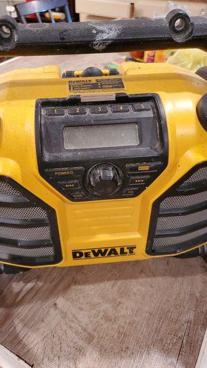 Dewalt radio for Sale in Tulsa, OK