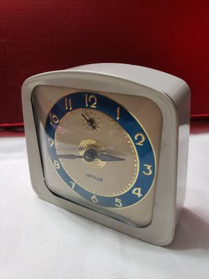 Vintage Apollo wind-up clock for Sale in Rogersville, MO