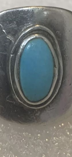 Sterling Native American Turquoise Ring Size 9 1/2 for Sale in Menifee,  CA
