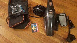 Vaccum car cleaner, fm transmitter, phone holder for Sale, used for sale  New York, NY