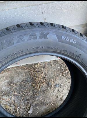 4 Blizzak snow tires for Sale in Wheat Ridge, CO
