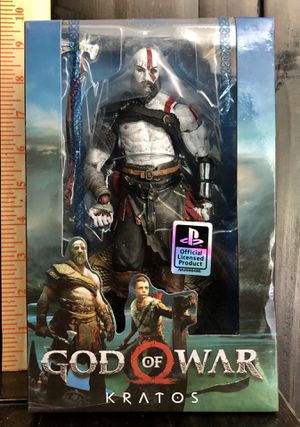 Kratos god of war Action figures toys statue collectibles collection New w/box for Sale in Arlington, TX