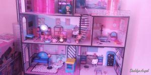 LOL dollhouse with lol dolls for Sale in Gladys, VA