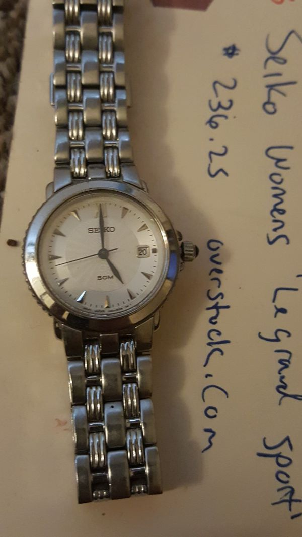 Seiko womens le grand designer watch