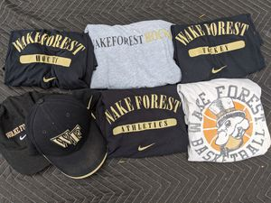 Wake Forest shirts and hats for Sale in Durham, NC
