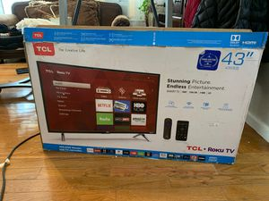 TCL 43' Roku TV for Sale in Brooklyn, NY