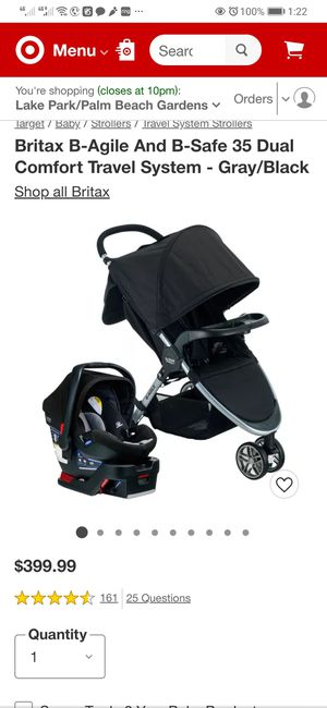 1 crib, 1 baby car seat and 1 stroller all together for 100 dollars for Sale in Jupiter, FL
