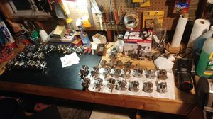 Vintage fishing reels. Variety of reels from JC Higgins to Pflueger. for Sale in Davenport, IA