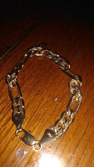 18k gold bracelet for Sale in Sacramento, CA