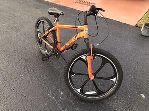 Mongoose Alert Mag Wheel Bike, 21-speed, 24-inch wheels, suspension fork, linear pull brakes, Orange for Sale in Miami, FL