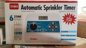TORO 6 Station Automatic Sprinkler System for Sale in Mission Viejo, CA