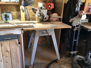 Rigid radial arm saw and stand for Sale in Gresham, OR