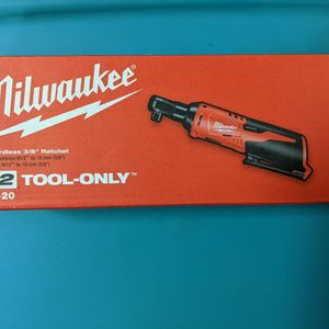 """Milwaukee M12 Cordless 3/8"""" Ratchet 2457-20 for Sale in Queens, NY"""