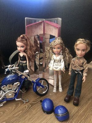 Bratz Dolls, runway truck, motorcycle & accessories for Sale in Rossmoor, CA