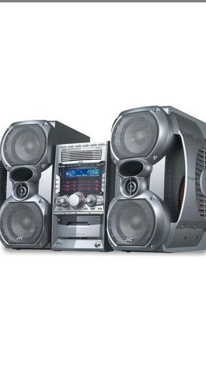 JVC HOME STEREO SYSTEM for Sale in Vancouver, WA
