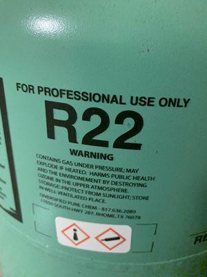 Freon r22 for Sale in Dallas, TX