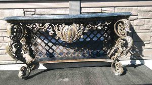 Heavy metal entry table for Sale in Los Angeles, CA