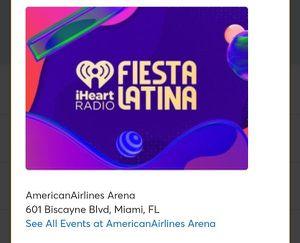 IHeartRadio Fiesta Latina for Sale in Miami, FL