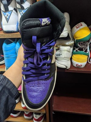 Air Jordan 1 Court purple size 10 for Sale in Oakland, CA