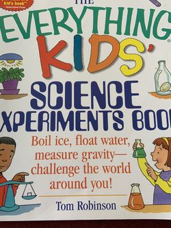 Everything Kids Science Experiments Book for Sale in Leona Valley,  CA