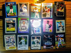 Baseball card AUTO and JERSEY OR #d lot for Sale in Fresno, CA