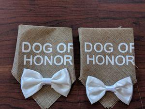 Dog of honor wedding bandana for Sale in Everett, WA
