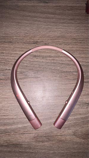 Lg tone infinim premium bluetooth wireless stereo headset for Sale in Las Vegas, NV