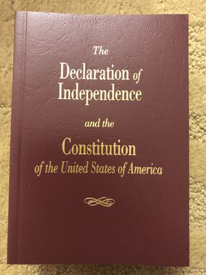 U.S. Declaration of Independence & Constitution for Sale in Fairfax, VA