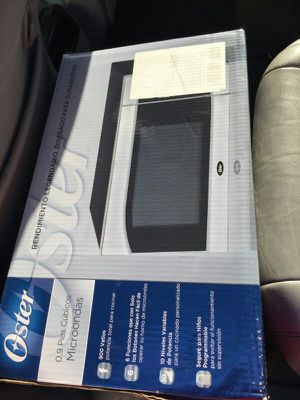 Oster microwave for Sale in Chelsea, MA